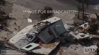 9 12 2017 summerland key to big pine key fl helicopter footage hurricane irma aftermath