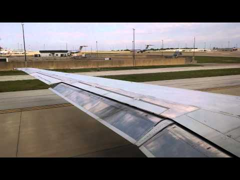 American Airlines MD-80 departing DFW airport.