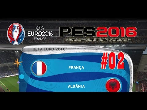França x Albânia Euro 2016  02 Gameplay PT BR - YouTube 06097caa783d0