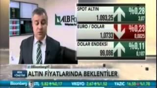 ALB Forex Yatırım Uzmanı Volkan Kuğucuk, altın ve dolar fiyatlarını yorumluyor. Bloomberg HT