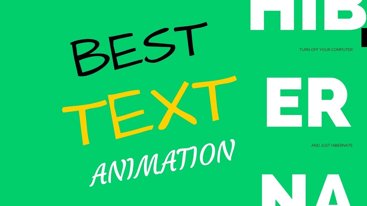 Best Android Apps To Create Text Animation For Youtube Videos