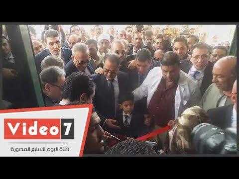 اليوم السابع :وزير الصحة ومحافظ الجيزة يفتتحان مستشفى الصف المركزى