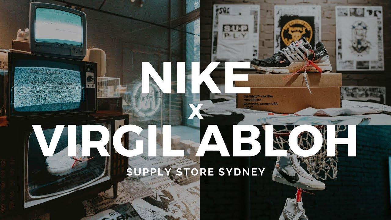 310d206f0f82eb NIKE x Virgil Abloh  THE TENS  x Supply Store