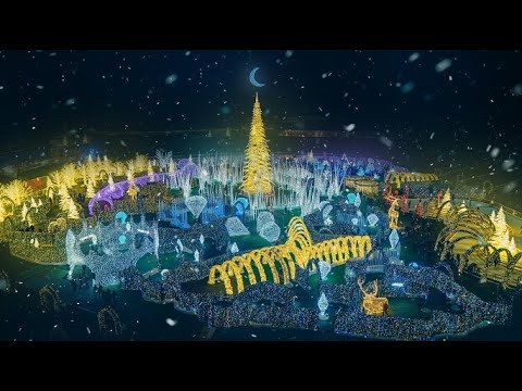 Nick Wize - World's Largest Christmas Light Maze Is Coming To Tropicana Field