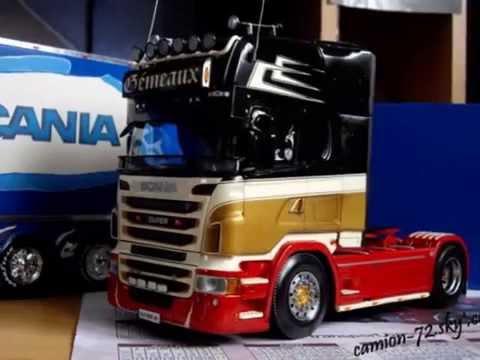 Mes Maquettes De Camions Youtube