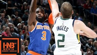 New York Knicks vs Utah Jazz Full Game Highlights / Jan 19 / 2017-18 NBA Season