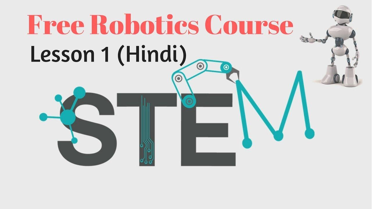 Online Robotics Course Lesson 1 Hindi Youtube