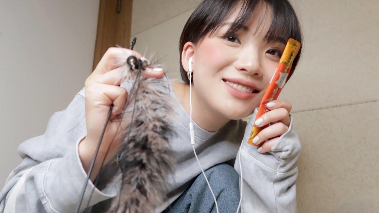 ASMR 너는 고양이, 나는 집사 🐈 You are a Cat, I'm a Cat Servant (Sub✔️)