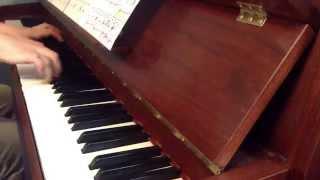 """Il changeait la vie"" J.J Goldman (piano)"