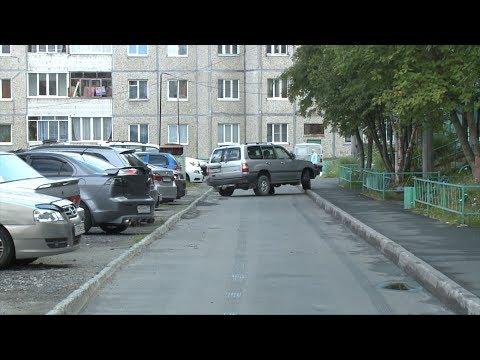 В Апатитах ТСЖ объявило войну незаконным парковкам