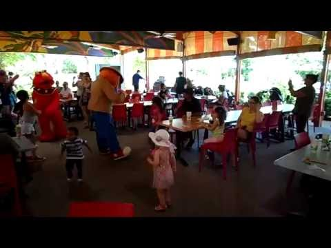 Lunch with Elmo and Friends at Busch Gardens Tampa, FL
