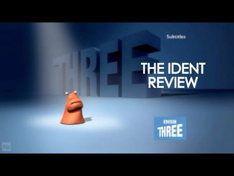 BBC Three Blobs - The Ident Review