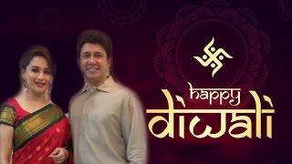 Madhuri Dixit and Sriram Madhav Nene celebrate Diwali with zoom | Bollywood News