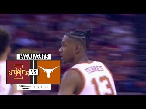 Iowa State Vs. Texas Basketball Highlights (2018-19) | Stadium