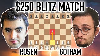 $250 Chess Match: GothamChess vs. Eric Rosen