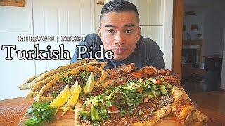 Turkish Pizza | Turkish Pide Recipe