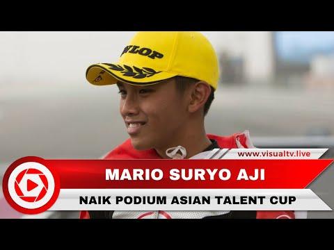 Pembalap Indonesia Mario Aji Naik Podium Asia Talent Cup