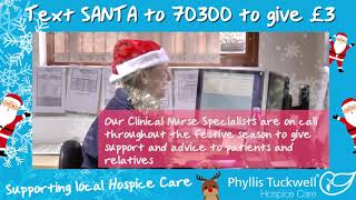 Phyllis Tuckwell's Santa Selfie - Clinical Nurse Specialist team