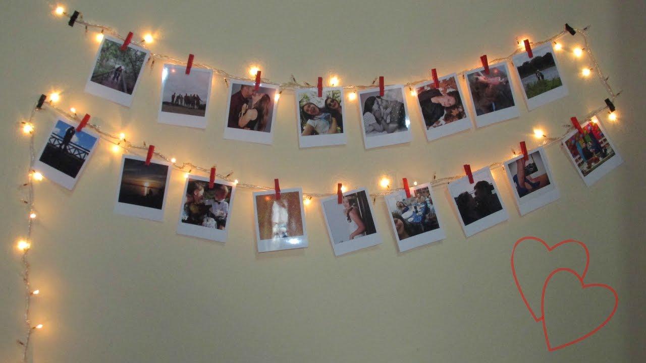 Varal de Fotos Polaroids   YouTube
