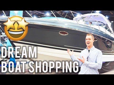 I'm On A Boat!! FPO2 Tackles The 2018 Detroit Boat Show!! Yamaha Jet Boats, Formula Boats, Yachts!