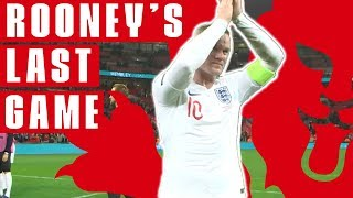 Wayne Rooney Shines In Last Game For England | England 3-0 USA