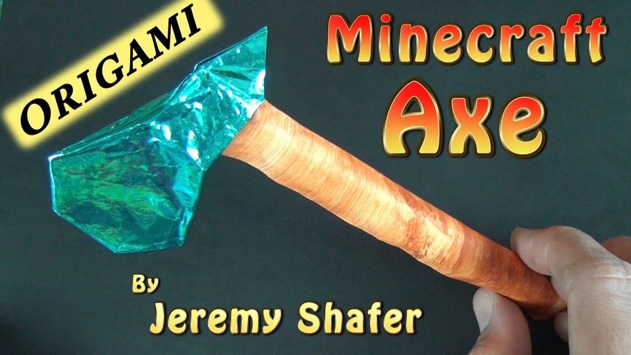origami axe by jeremy shafer youtube
