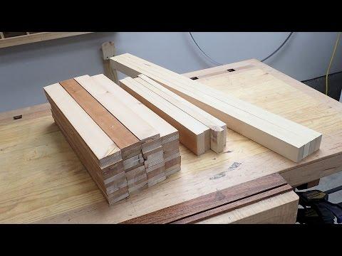 Making Wooden Blinds Part 1