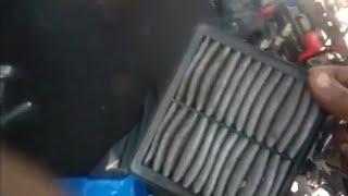 Air filter clean suzuki gixxer bike