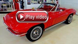 1965 Chevrolet Corvette Stingray 327 4 Speed Convertible