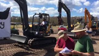 Video still for Yoder & Frey Sells Mini Excavators at Florida Auctions 2018