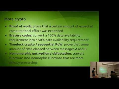 Introduction to Cryptoeconomics - Vitalik Buterin