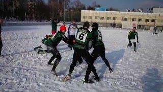 Снежное регби 2016