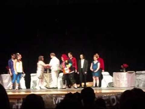 The Wedding singer, performance  Athol High School 2015 (Athol,MA)