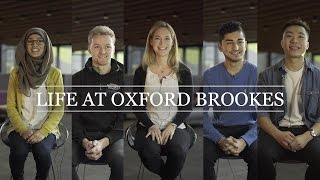 Life at Oxford Brookes – Student View | Oxford Brookes University