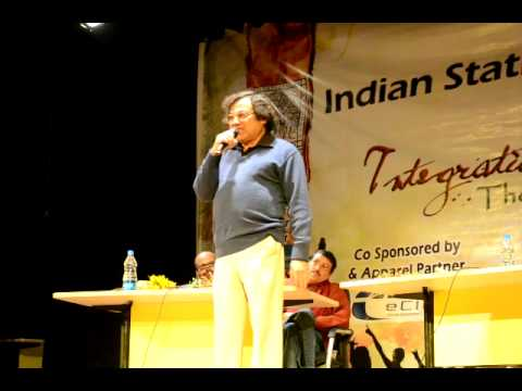 Bangla Tangla Mr Apurba Dutta ISI Kolkata TechnoCultural Fest Integration 2012