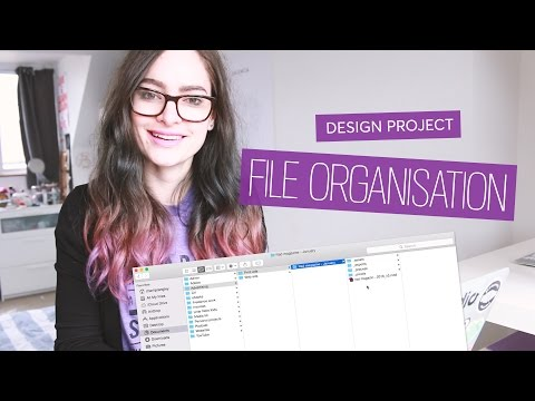 The Best Way to Organise Design Project Files | CharliMarieTV