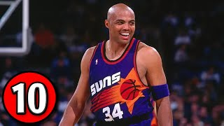 Charles Barkley Top 10 Plays of Career