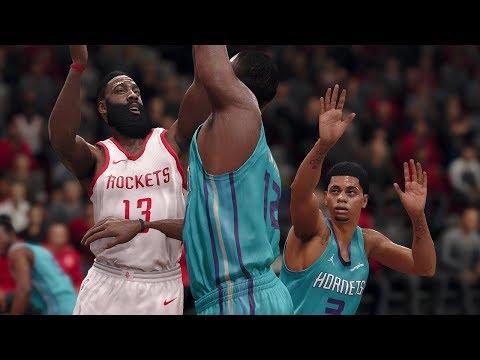 NBA Today 12/13/2017 - Houston Rockets vs Charlotte Hornets - Full NBA Game Live (NBA Live 18)