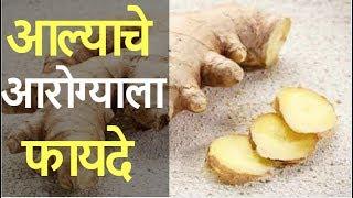 आल्याचे आरोग्याला होणारे फायदे // आल्याचे औषधी उपयोग फायदे माहिती || Marathi Trend alyache Upyog