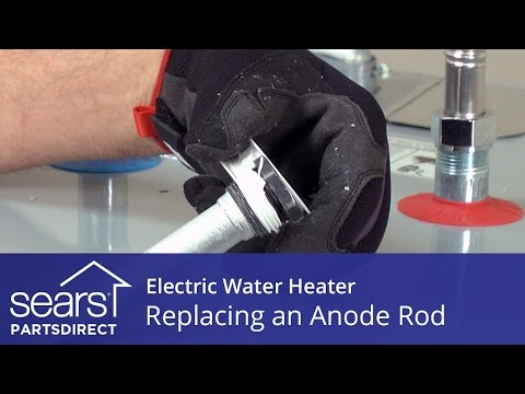How To Replace An Electric Water Heater Anode Rod