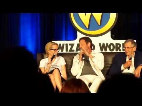 Comic con panel x files @ wizard world Chicago 2016
