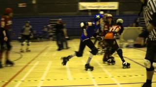 Auld Reekie Roller Girls Home Season: Cherry Bombers vs Leithal Weapons: P1J19,20