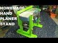 Homemade Hand Planer Stand / Statyw do heblarki samoróbka