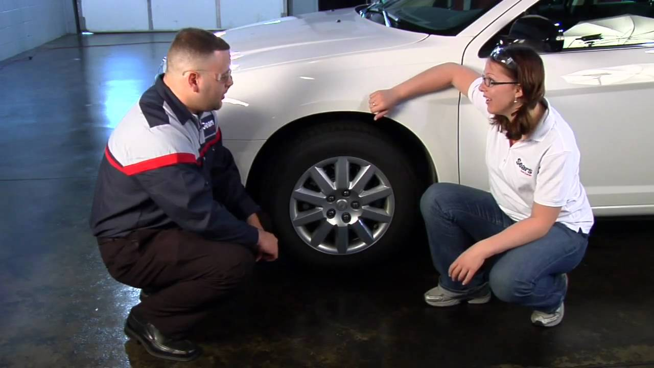 how to check your tire size sears blue automotive crew car care tips youtube. Black Bedroom Furniture Sets. Home Design Ideas