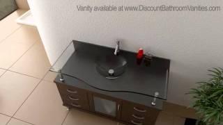 Virtu Usa Vincente Modern Bathroom Vanity With 6 Drawers Ms-48