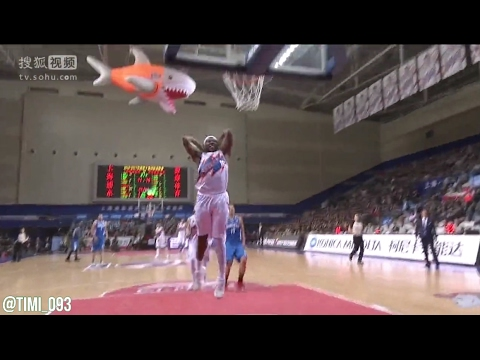 Guerschon Yabusele Highlights vs Qingdao (24 pts, 8 reb)