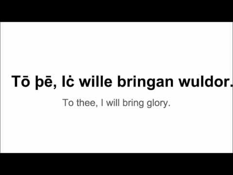 Old English Phrases: Part 1