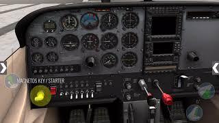 Х-Літака C172 Холодний Старт Проходження