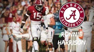 Ronnie Harrison || Alabama Career Highlights || 2015 - 2018