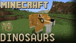 Minecraft Dinosaurs: Episode 15 - My New Pet Smilodon!